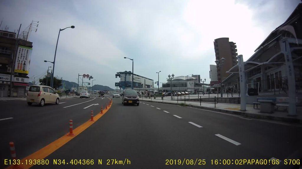 ドラレコGoSafe S70GS1のリアカメラの画質