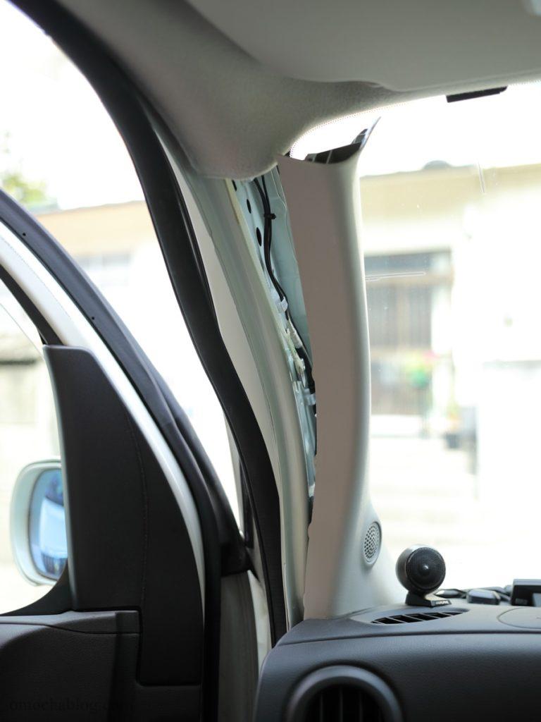 ドラレコGoSafe S70GS1Aピラー