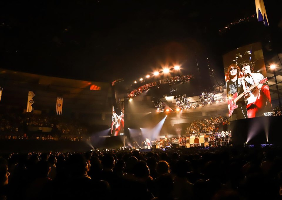 B'z LIVE-GYMのバックステージ