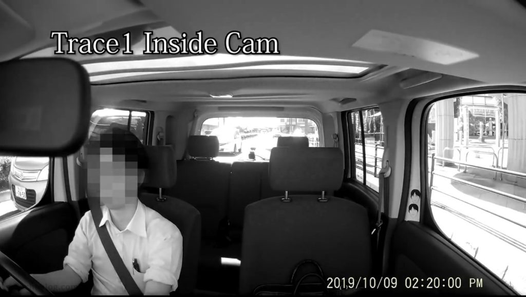 室内カメラの映像