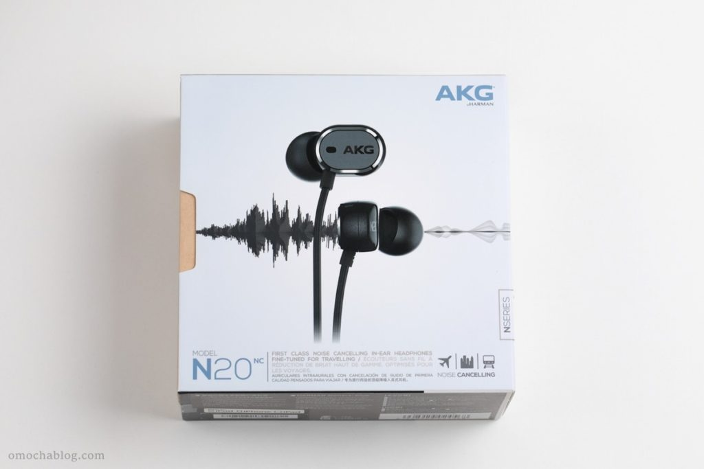 AKGのノイズキャンセリングイヤホン「N20NC」