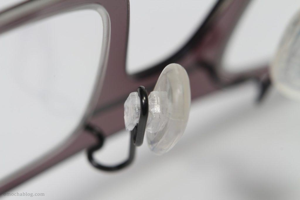 超音波洗浄機で洗ったメガネ