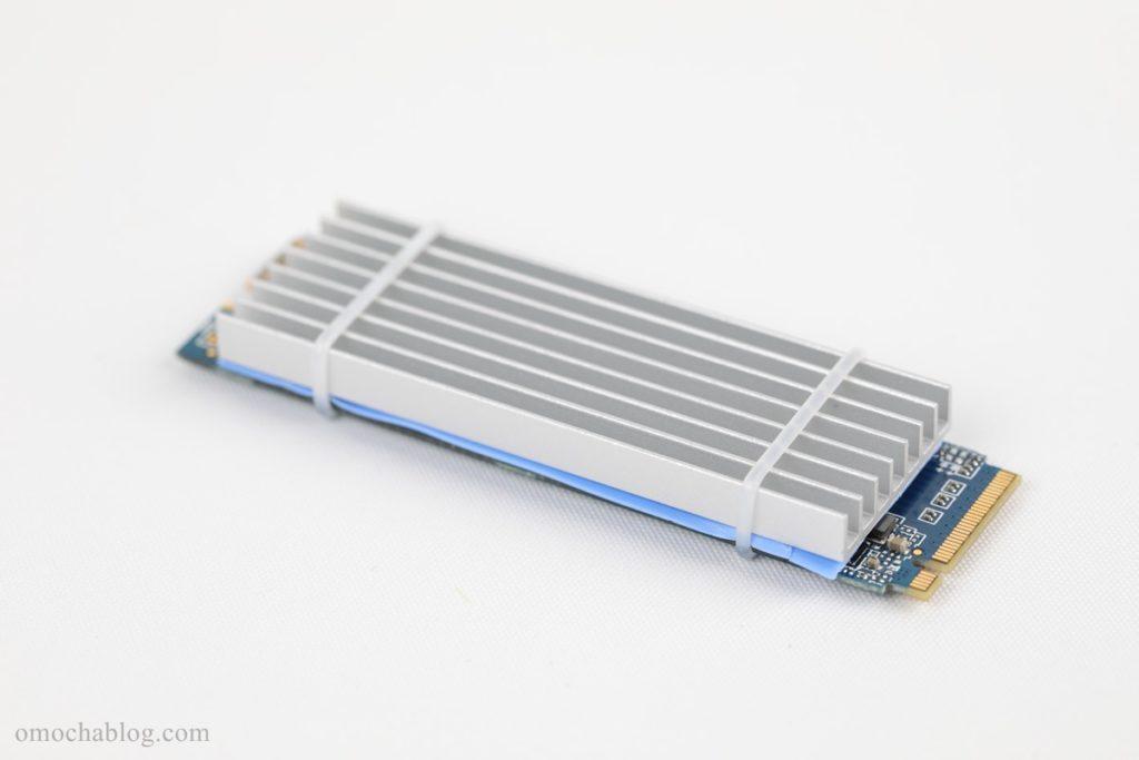SSD+ヒートシンク