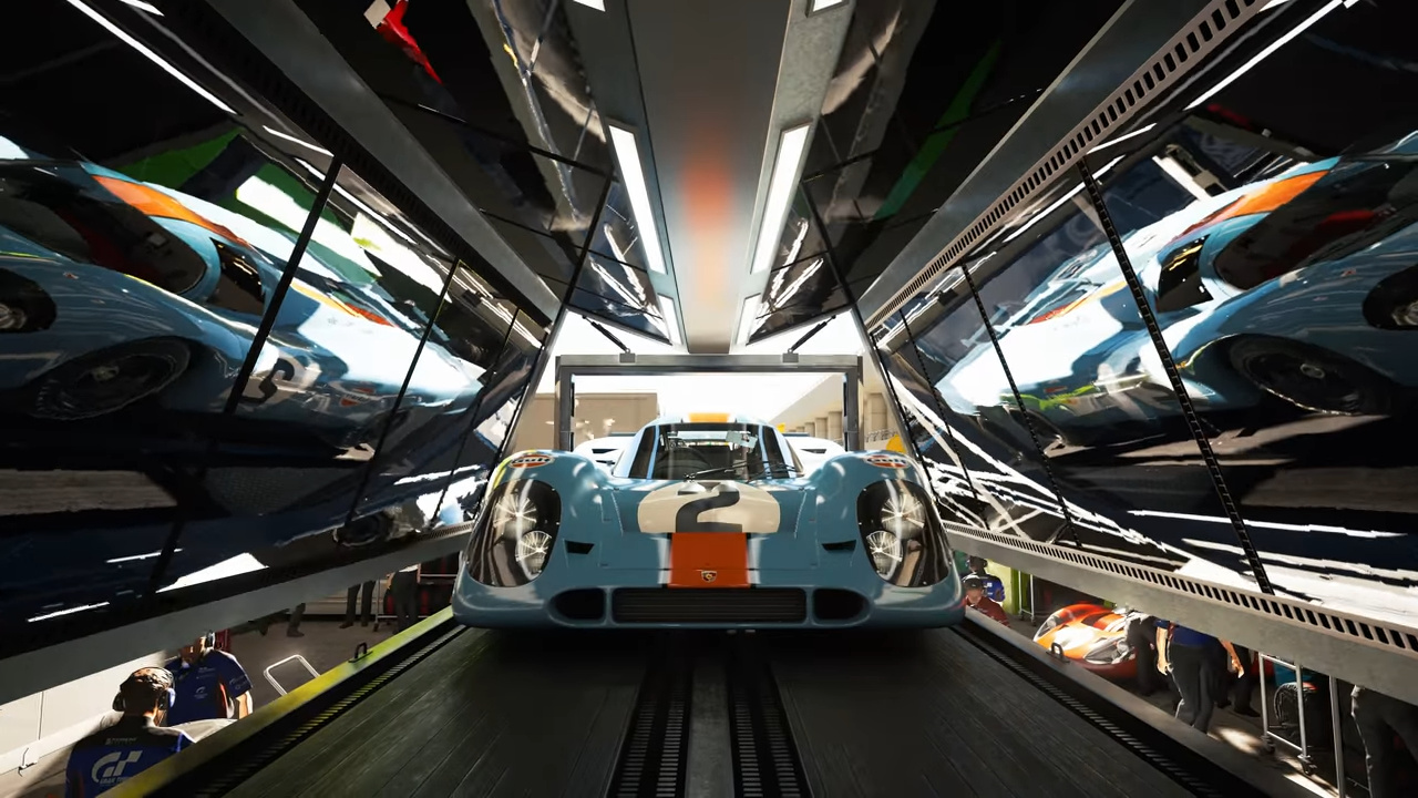 GT7のレイトレーシング