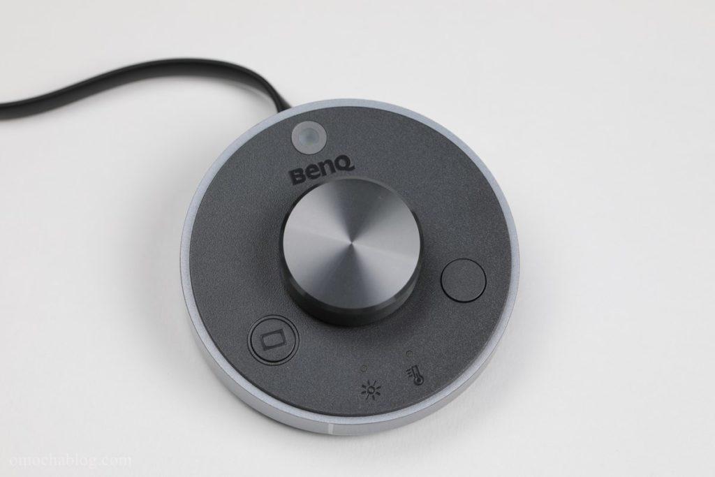 BenQScreenBarPlusのコントローラー