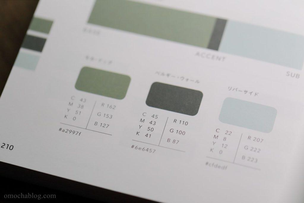 3色のバランスとコード