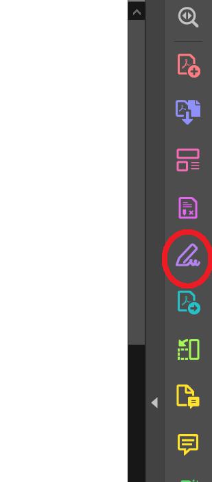 Adobe Acrobatの入力と署名機能