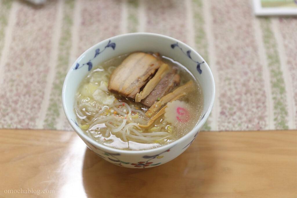 玉響竹燻製麺完成図