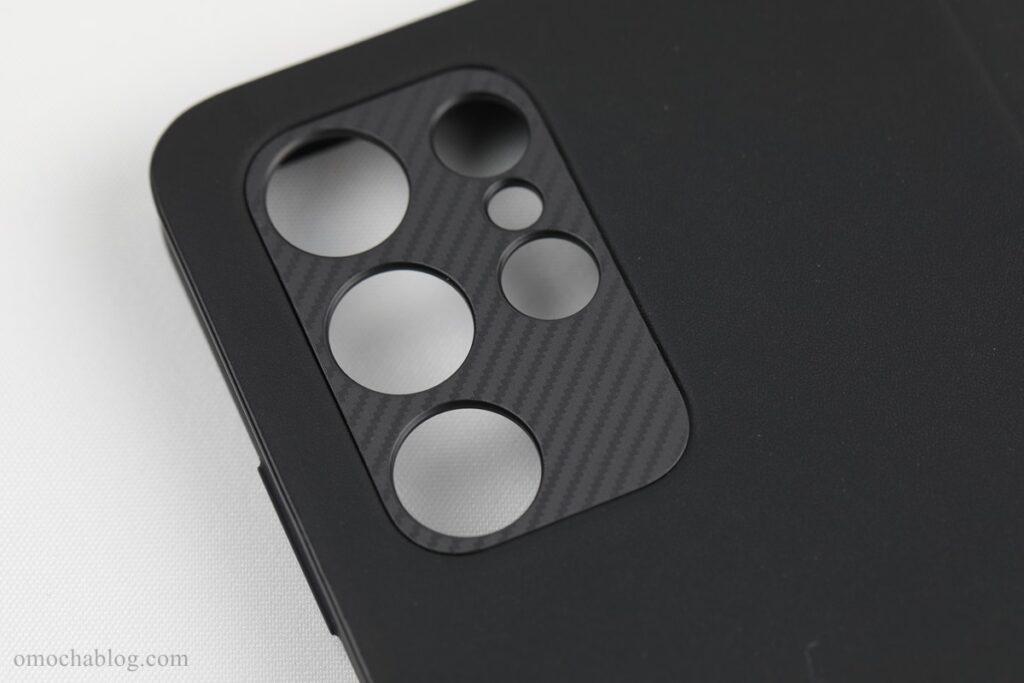 GALAXY S21 Ultra 5Gケースカメラ部